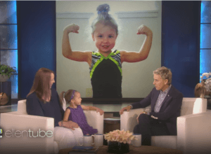 A 3 year adorable kids gymnast whose performance will amazed you.