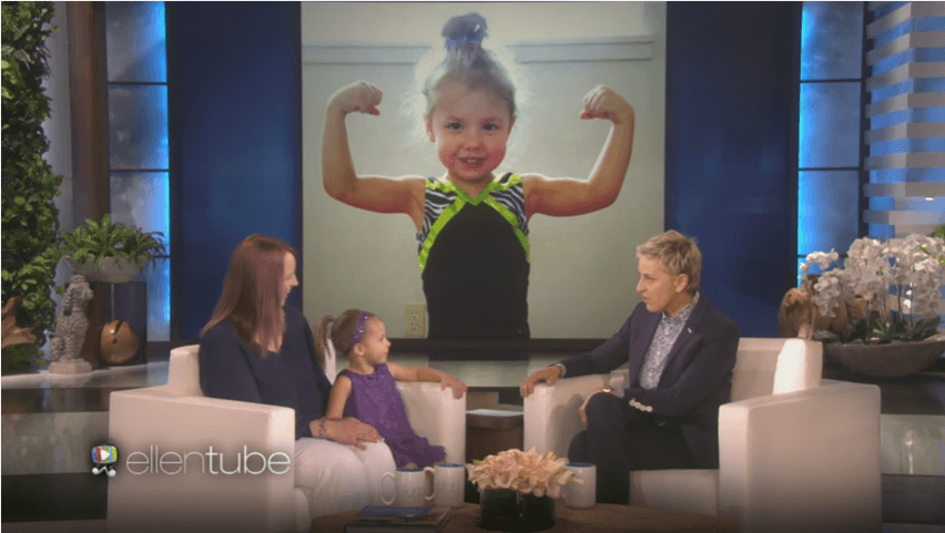 Emma Rester 3 year adorable kids gymnast whose performance will amazed you.