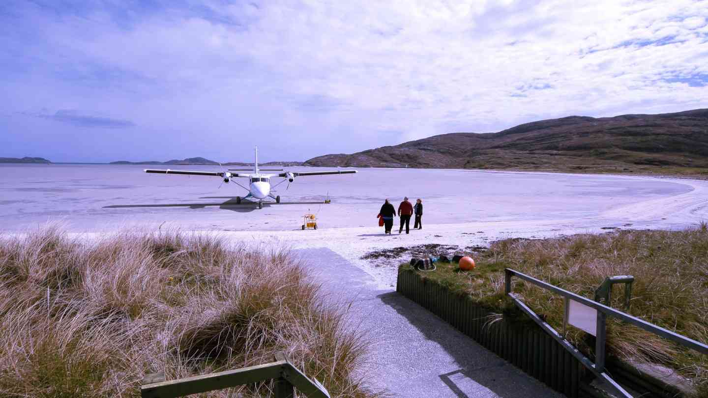 Most Dangerous Airport in this word. Barra airport Scotland.