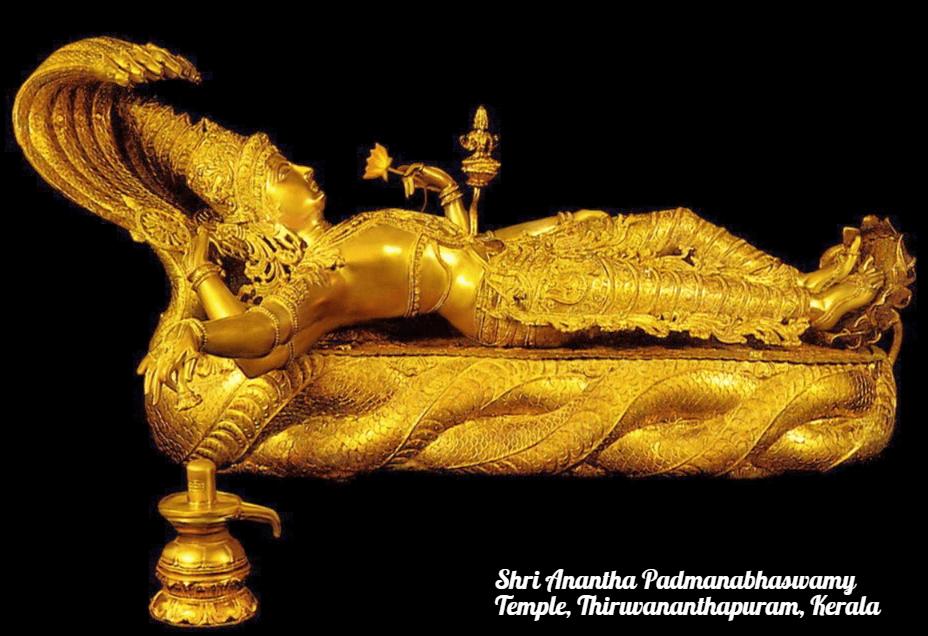 richest temples in India Shri Anantha Padmanabhaswamy Temple, Thiruvananthapuram, Kerala