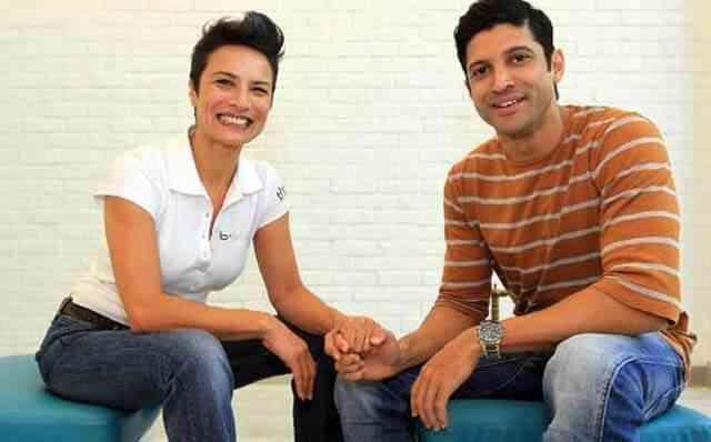 Farhan Akhtar and Adhuna