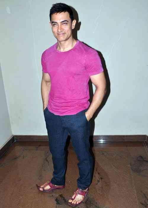 Aamir Khan Height:5 feet 5 inches