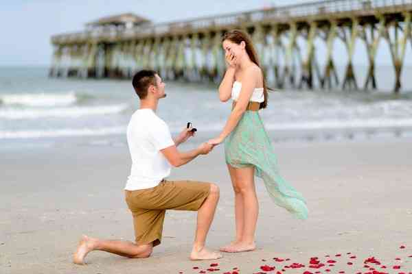 Men and marriage proposals