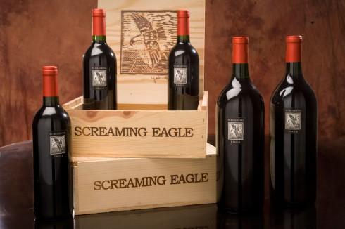 Screaming Eagle Cabernet Sauvignon 1992 – $500,000