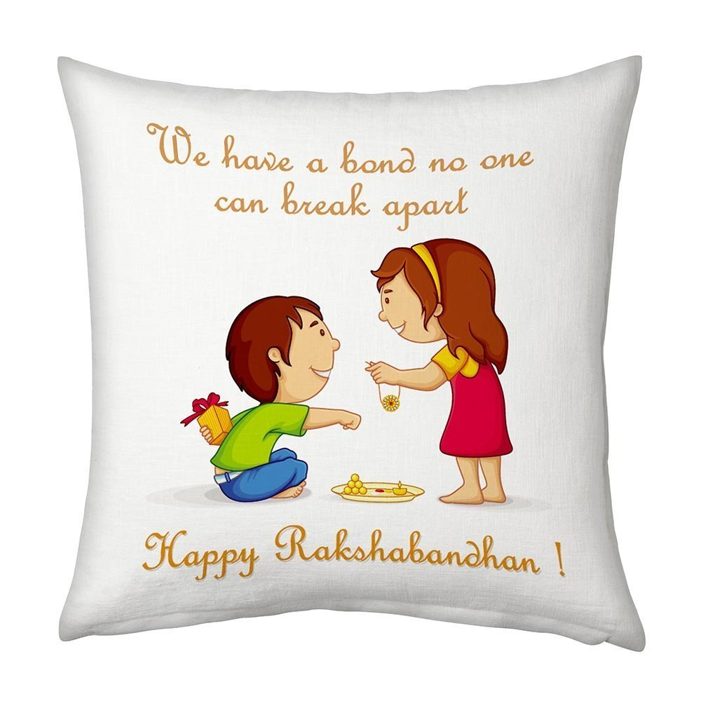 Cushions designed specially made for Rakshabandhan