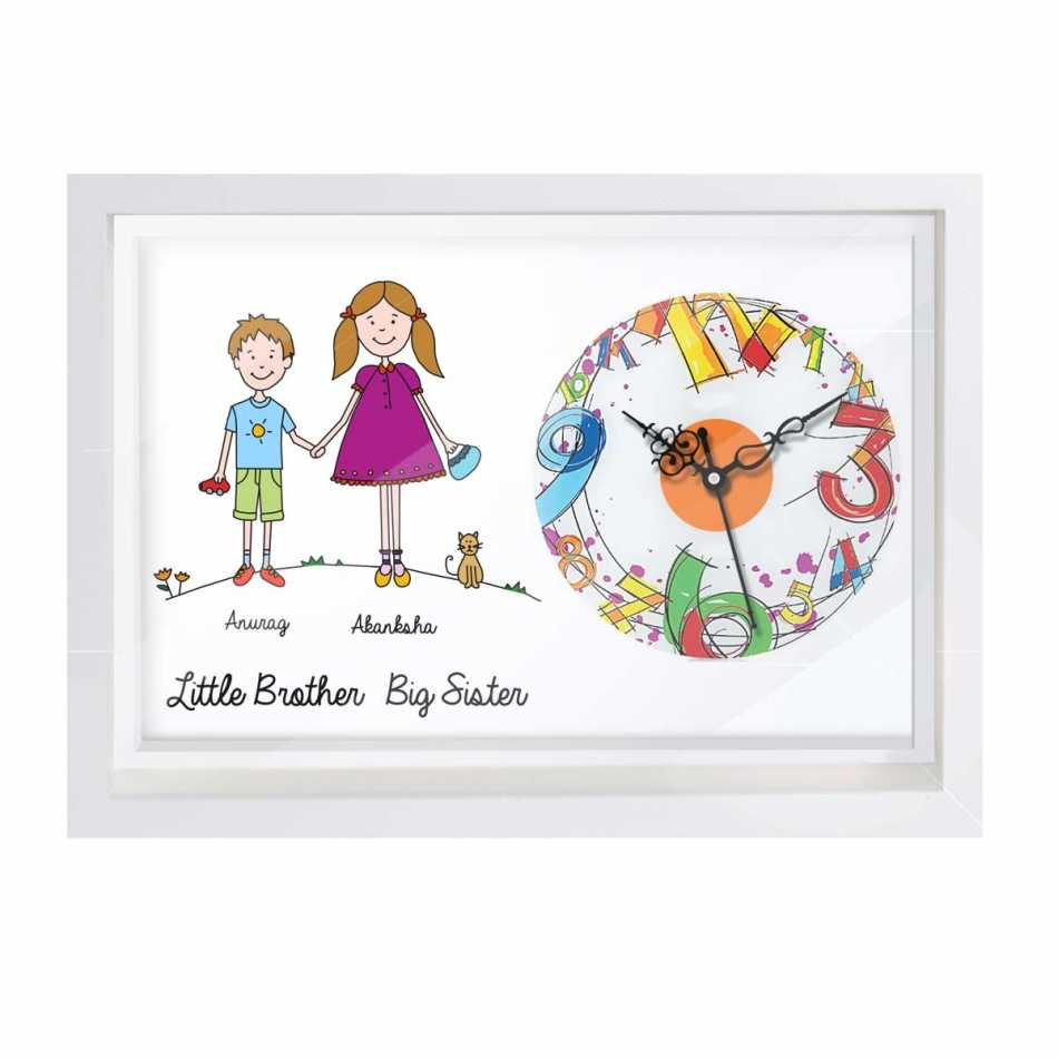 Wall Clock with new Raksha bandhan Designs