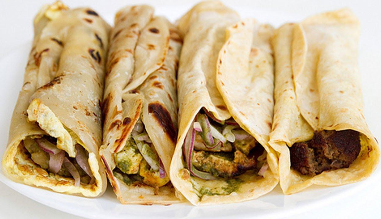 Kebab-Parantha