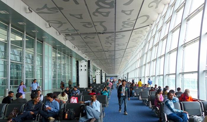 Airport in Kolkata