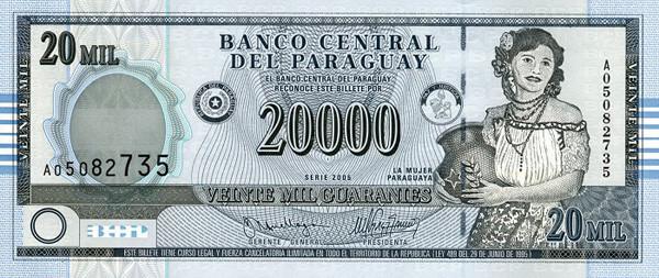currency Paraguayan Guarani