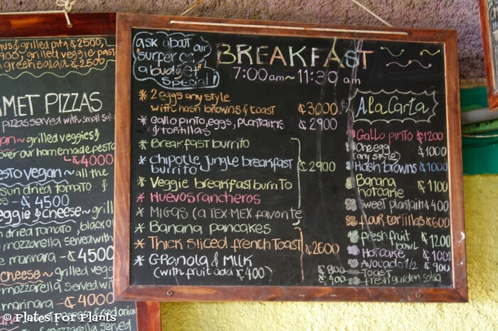 Costa food price