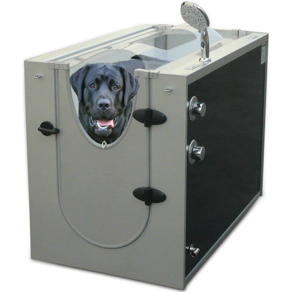 CANINE SHOWER STALL