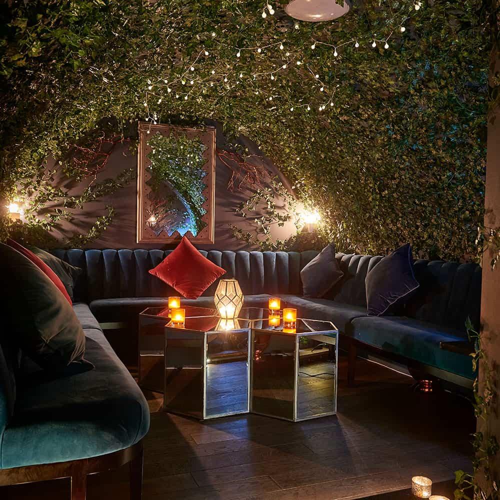 Garden Themed Cocktail Bar